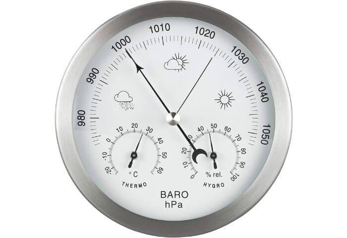 estacion meteorologica analogica
