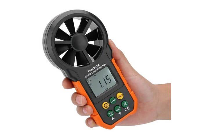 anemometro para que sirve